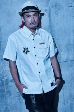 【予約商品】Zephyren(ゼファレン) WORK SHIRT - Wish y'all the best of luck - WHITE