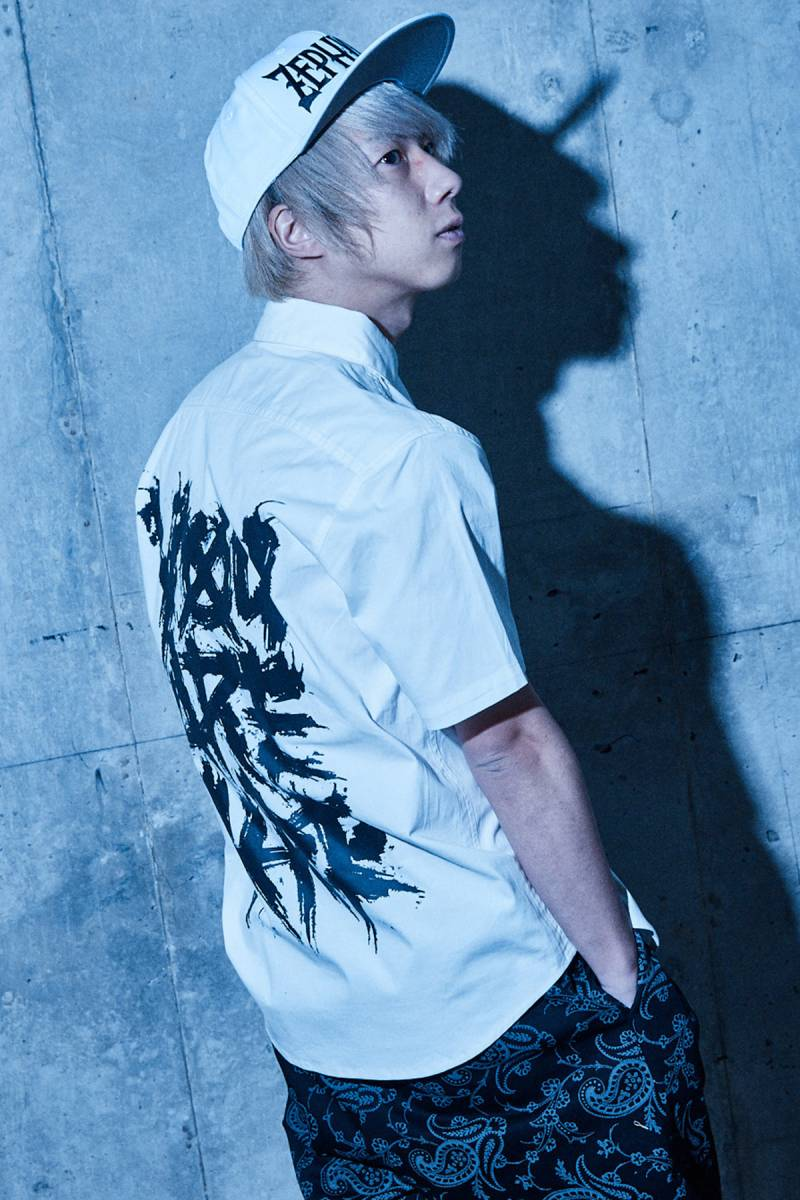 【予約商品】Zephyren(ゼファレン) EMBLEM SHIRT S/S WHITE / You are here