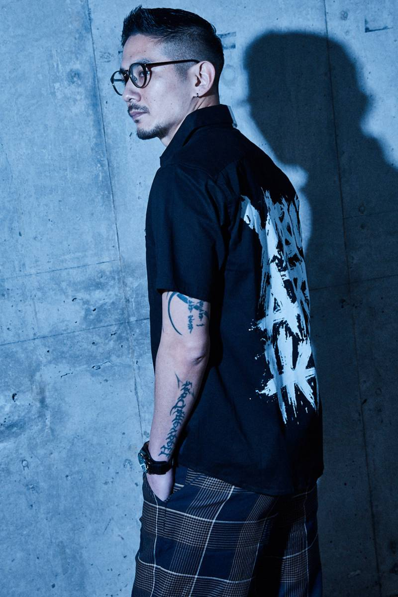 【予約商品】Zephyren(ゼファレン) EMBLEM SHIRT S/S MIX / You are here
