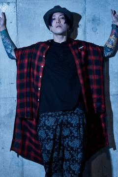 LONG SHIRT S/S - Resolve - RED CHECK