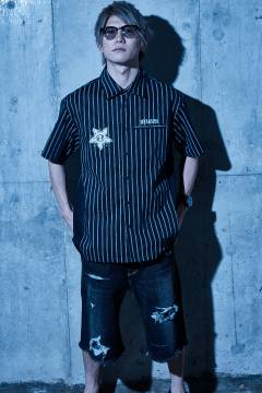 【予約商品】Zephyren(ゼファレン) WORK SHIRT - Wish y'all the best of luck - STRIPE