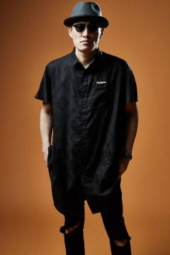 LONG SHIRT S/S BLACK