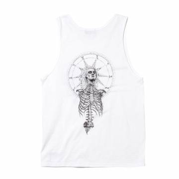 TANK TOP - As above, So below - WHITE