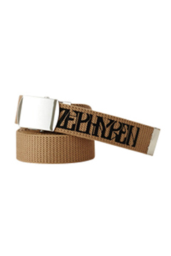 【予約商品】Zephyren(ゼファレン) LONG G.I BELT -VISIONARY- BEIGE