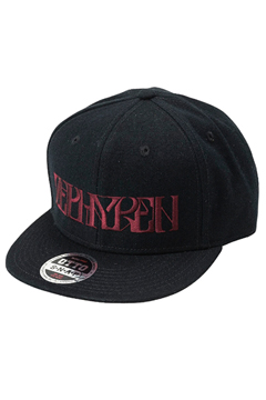 B.B CAP -VISIONARY-  BLACK / BURGUNDY