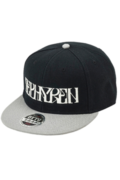 B.B CAP -VISIONARY-  BLACK / GRAY