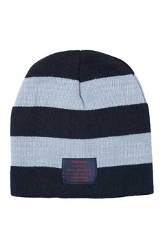 BORDER BEANIE -Your Are Here- BLACK/GRAY