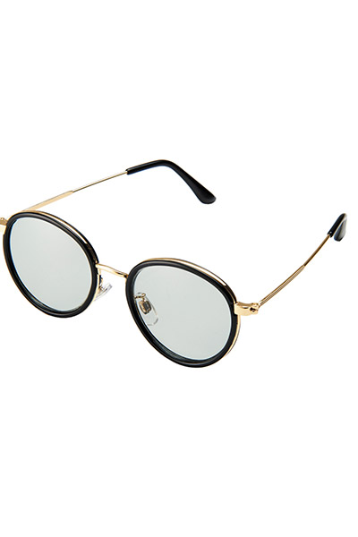 【予約商品】Zephyren(ゼファレン) SUNGLASS -BRIGHTARK- BLACK/SMOKE