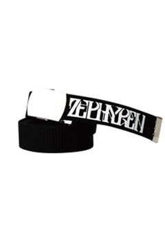【予約商品】Zephyren(ゼファレン) LONG G.I BELT - VISIONARY - BLACK
