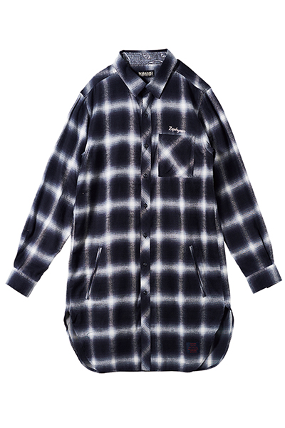 LONG SHIRT L/S BLACK
