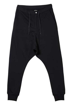 SAROUEL SWEAT PANTS BLACK
