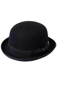 Zephyren(ゼファレン) FELT BOWLER HAT BLACK