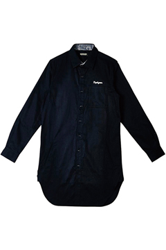 【予約商品】LONG SHIRT L/S  BLACK