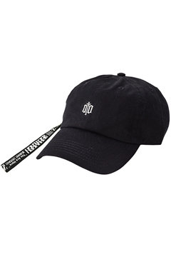 【予約商品】LONG STRAP LO CAP -ENGRAVE - BLACK
