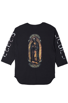 7/S TEE -PRAY- BLACK / COLOR