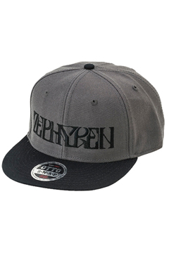 B.B CAP -VISIONARY-  CHARCOAL / BLACK