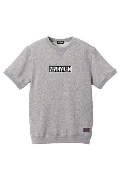 Zephyren(ゼファレン) S/S SWEAT -PROVE- GRAY