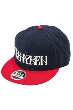 B.B CAP -VISIONARY-  NAVY / RED