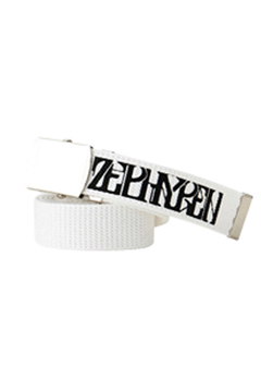 【予約商品】Zephyren(ゼファレン) LONG G.I BELT -VISIONARY- WHITE