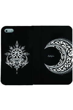 【予約商品】Zephyren(ゼファレン) FLIP iPhone CASE - MOON - iPHONE X