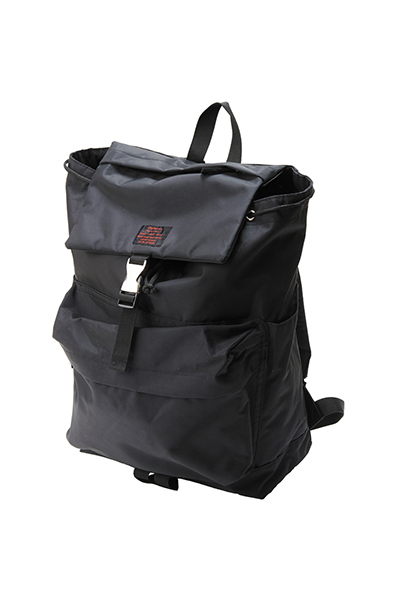 【予約商品】Zephyren FLAP BACKPACK BLACK