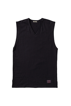 【予約商品】VNECK LONG N/S BLACK