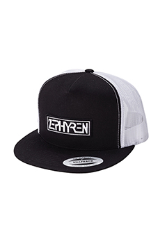 TWILL MESH CAP - PROVE - BLACK / WHITE