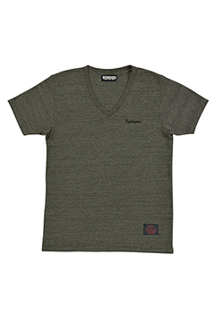 【予約商品】Zephyren S/S VNECK -Resolve- CHARCOAL