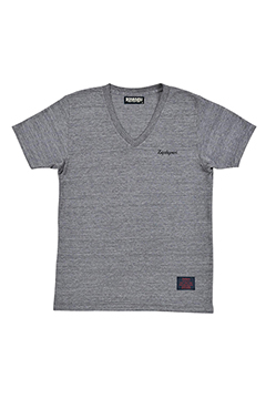 S/S VNECK - RESOLVE - GRAY