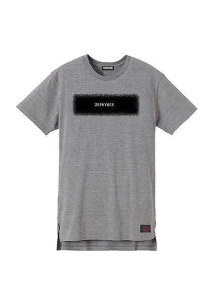 【予約商品】Zephyren LONG S/S TEE -STATIC- GRAY