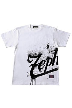Zephyren S/S TEE -BEYOND SPLASH- WHITE