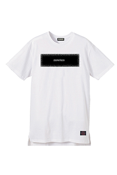 LONG S/S TEE -STATIC- WHITE