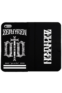 【予約商品】Zephyren FLIP iPhone CASE -ENGRAVE- iPhone 8