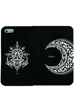 【予約商品】Zephyren FLIP iPhone CASE -MOON- iPhone X