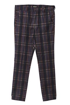 SLACKS BLACK / CHECK