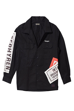 WORK SHIRT L/S BLACK