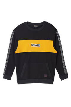TAPE BIG SWEAT BLACK