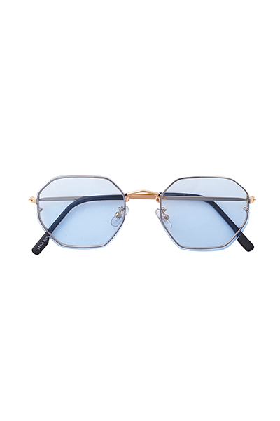 SUNGLASS - OCTAGON - L.BLUE