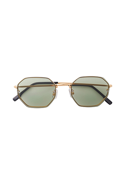 SUNGLASS - OCTAGON - L.GREEN