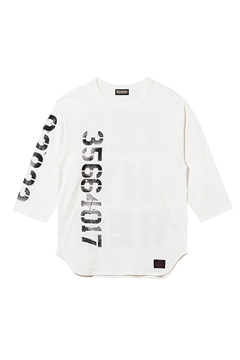 7/S TEE - oldschool - WHITE