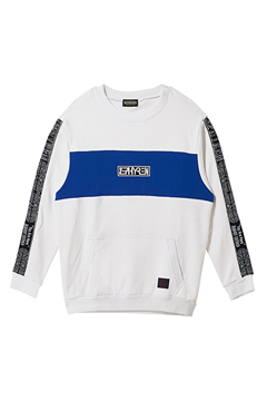 TAPE BIG SWEAT WHITE