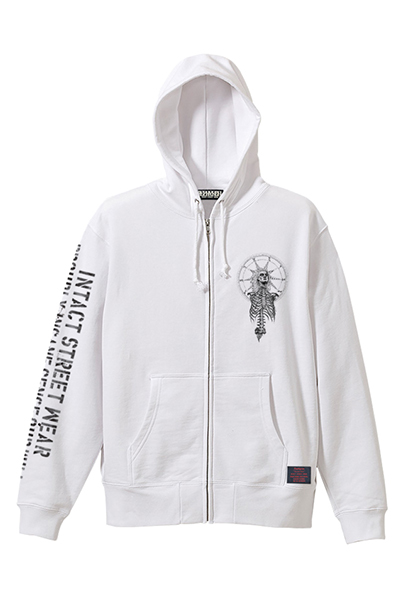 ZIP PARKA - As above, So below - WHITE
