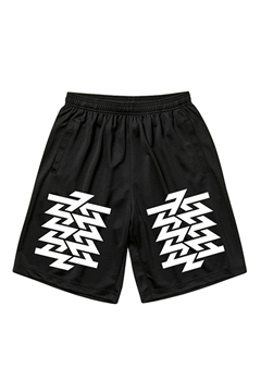 MESH SHORTS  BLACK / Cut the world