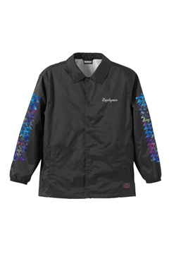 COACH JACKET / Cut the world BLACK