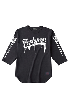7/S TEE - BEYOND PAINTED - BLACK
