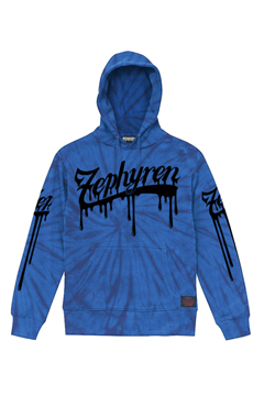 【予約商品】PARKA - BEYOND PAINTED - BLUE / TIE DIE