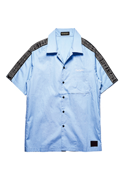 TAPE SHIRT S/S BLUE