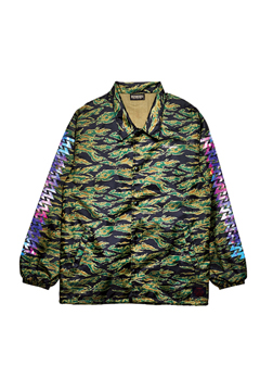 COACH JACKET / Cut the world CAMO 2
