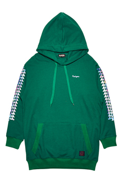 RAINBOW BIG PARKA GREEN