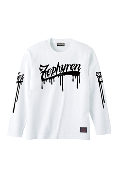 L/S TEE -BEYOND PAINTED- WHITE